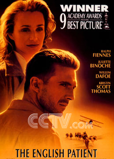 电影《英国病人》海报