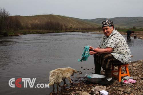 俄罗斯族老人