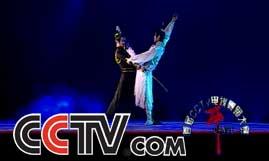 京,并逐步成为总政歌舞团的主要 十几年来,夏小虎和刘辉表演和演