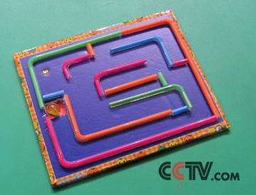 幼儿园迷宫设计图