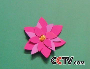 卡纸手工制作花