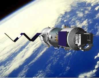 科技手工制作航天飞船