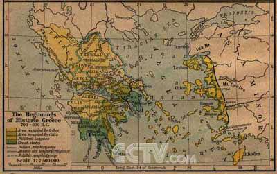 古希腊地图