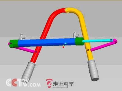 气筒原理结构图
