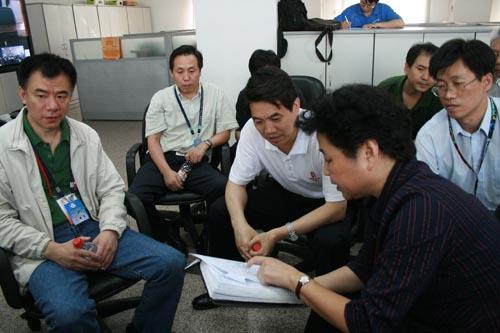 郑国光指导残奥会闭幕式服务
