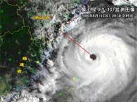 """""""桑美""""——近50年来登陆我国大陆最强的台风"""