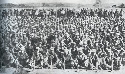 中央红军在毛图片