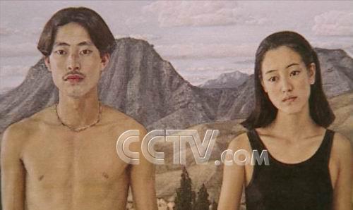 陈丹青人体艺术油画