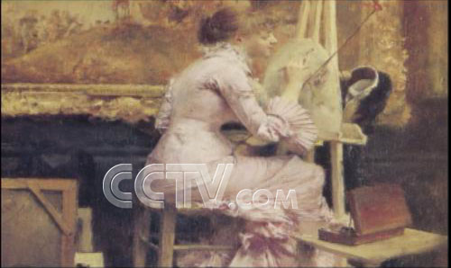 cctv中国当代油画作品展播 > 正文     《油画人物志·徐芒耀》 第 1