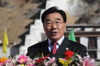 西藏自治区党委书记、西藏军区党委第一书记、张庆黎同志讲话