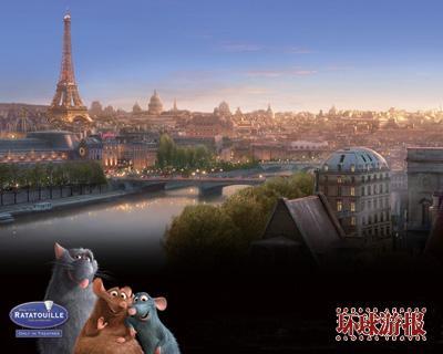 去法国找寻 料理鼠王