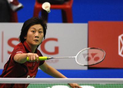 1 羽毛球──泰国公开赛 朱琳晋级女单四强
