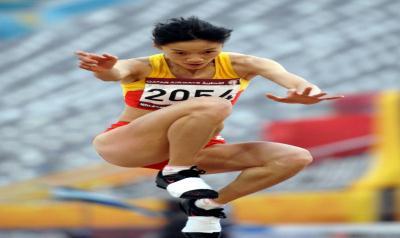 中国女子三级跳_[亚运会·金牌榜]中国选手获得女子三级跳远金牌(3)