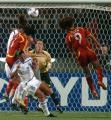 (1)中国女足对阵世界明星联队