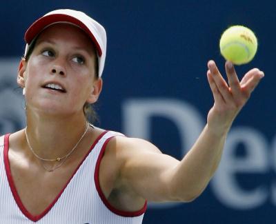 2 网球──罗杰斯杯 加拿大选手淘汰杉山爱