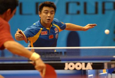 乒乓球世界杯 王皓挺进四强 4 -CCTV.com-体育频道-体育影集