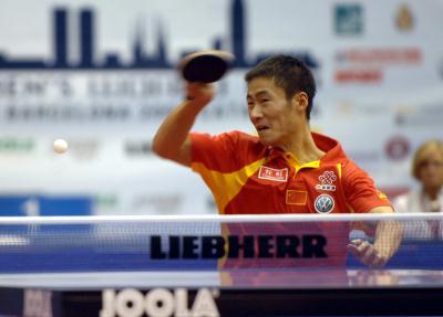 3 乒乓球世界杯 王励勤获得第三名 -CCTV.com-体育频道-体育影集