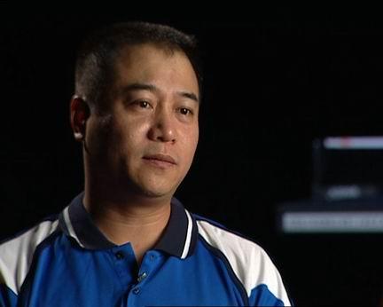 八一乒乓球队,王涛现在是乒乓中队队长兼总教练、少将军...