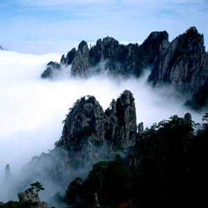 cctv黄山风景