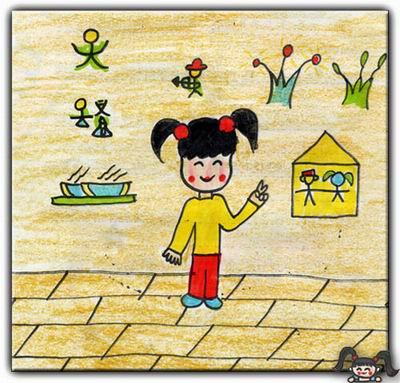 儿童画小驴图片可爱