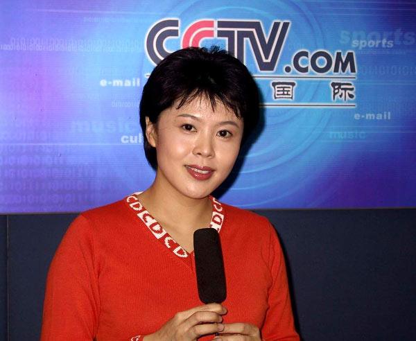 在央视国际网络录制2002春节向网友的拜年的节目