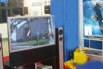 户户通接两台电视的接线图