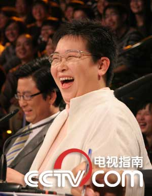 张越:中央电视台《半边天》节目主持人