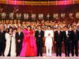 国家主席胡锦涛<br>参加庆典晚会